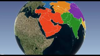 Pakistan is located in south Asia (Pashto)