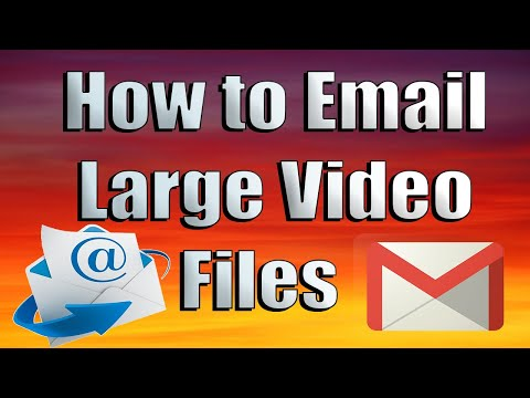 How to Email Large Video Files - Free Program
