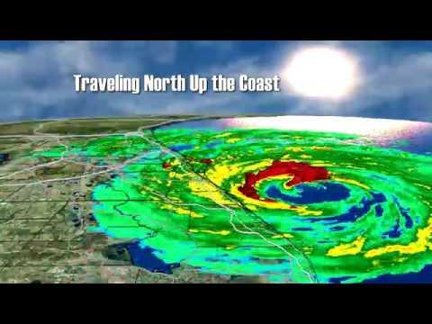 Hurricane Matthew 3D Model
