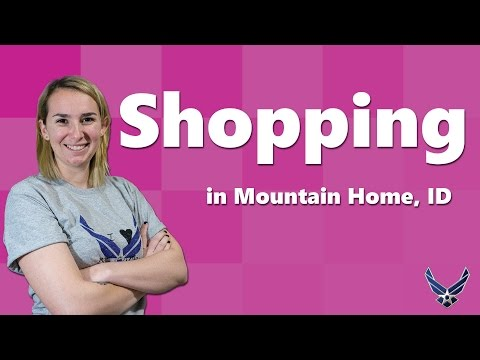 Shopping in Mountain Home, ID [Military Spouse Guides]