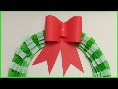 Origami - How to - fold a paper Bow/Ribbon | How To Make A Simple Easy Paper Bow 2018