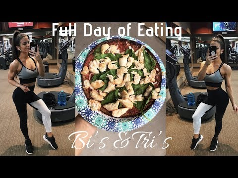 True Grit Ep. 1   Full Day of Eating   Arm Workout