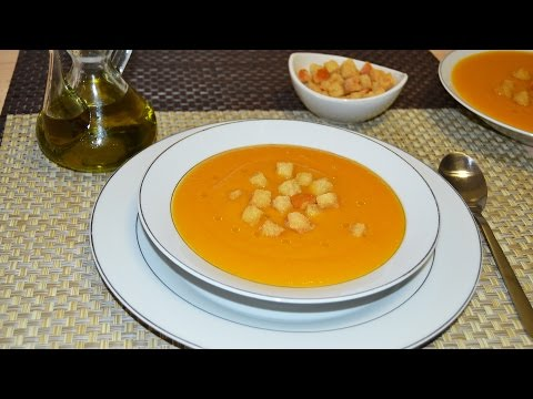 Puréed Vegetable Soup - Easy Purée of Vegetable Soup Recipe