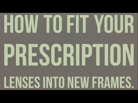 How to fit your prescription lenses into $15 frames from Walgreens!!!