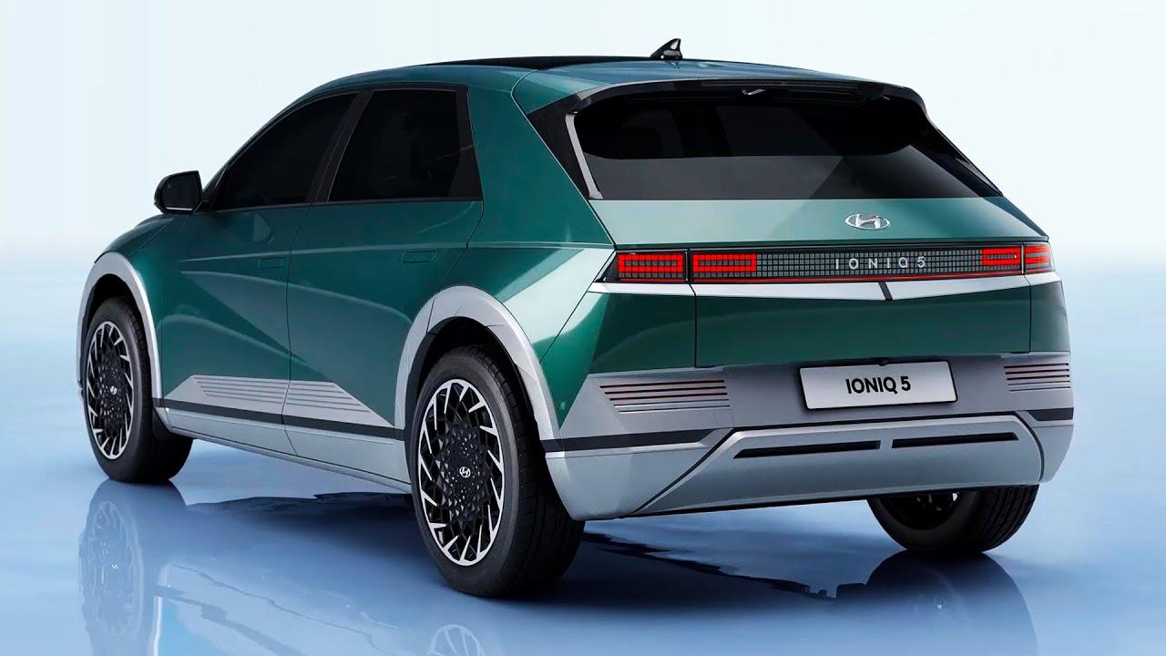 2022 Hyundai Ioniq 5 – Full Colors, Exterior and Interior design features