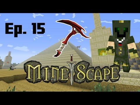 Dragon Pickaxe in Minecraft! Minescape 15