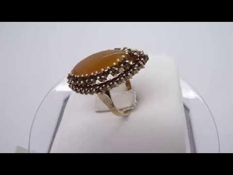 900 Silver Bohemian Garnet Ring Size 6.5 eBay #400748004579