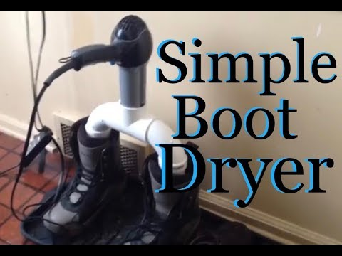 HomeMade Boot Dryer