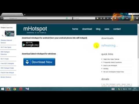 Turn your Laptop into wifi Hotspot (Bangla+English Subtitles)
