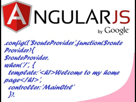 Routing and multiple page view in AngularJS