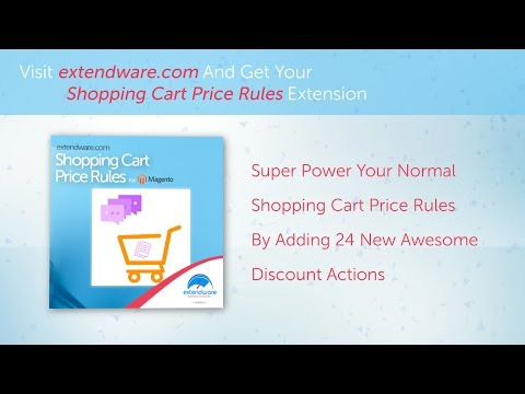 Extendware - Shopping Cart Price Rules for Magento