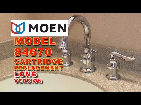 Moen Faucet Cartridge Replacement Model 84670 Eliana: LONG VERSION