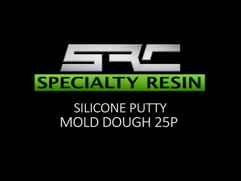 Specialty Resin silicone putty mold dough 25P