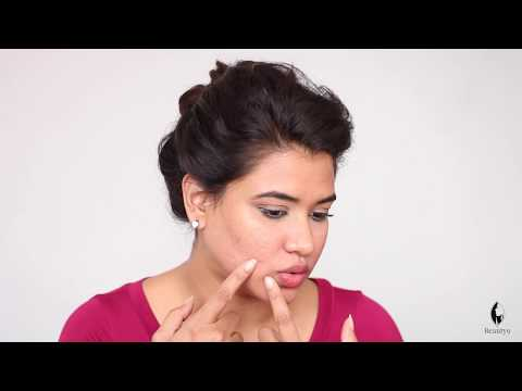 How to Hide Pimples with Makeup (Hindi)