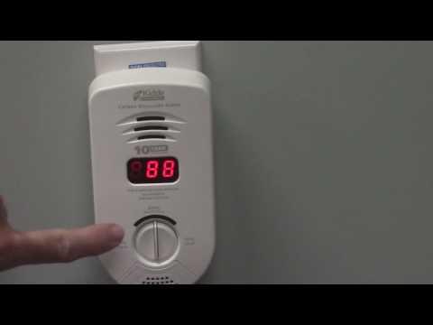 Kidde Carbon Monoxide Alarm Model KN-COP-DP-10YB