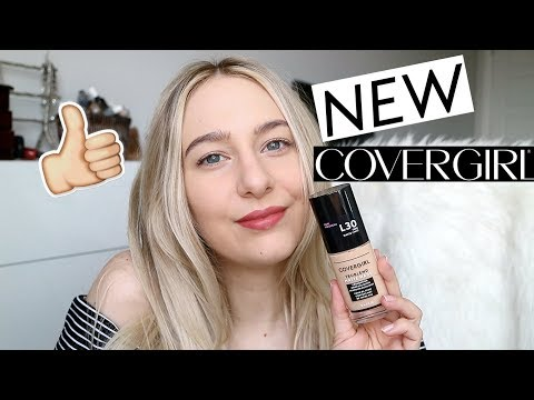 NEW COVERGIRL TRUBLEND MATTE FOUNDATION - first impression review