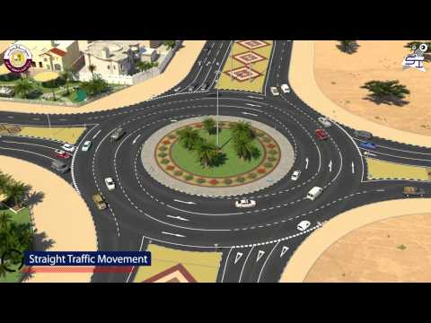 HOW TO DRIVE A ROUNDABOUT