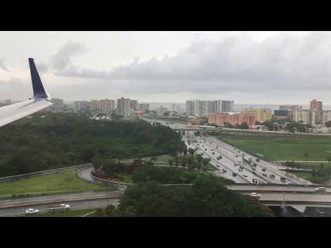 Landing in San Juan, PR | Delta Airlines Boeing 737-900ER | 06/02/16