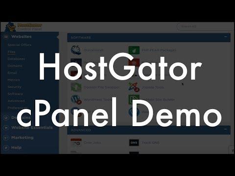 HostGator cPanel demo