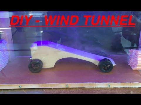 DIY Wind Tunnel  - Liquid Glycerine Smoke