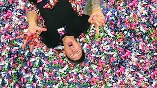 20,000 FIDGET SPINNER TAKEOVER!!