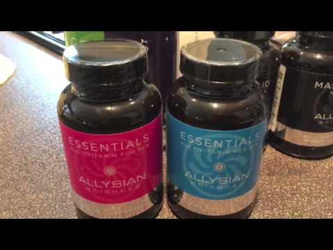 Allysian Sciences Essentials Multi Vitamins - Best Multivitamins Review