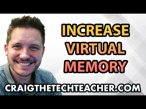 Increase Virtual Memory