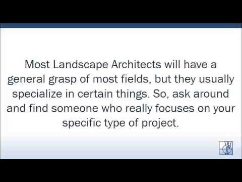 Choosing A Landscape Architect ~ Athens Ga, Wms & Assoc.