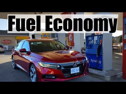 2018 Honda Accord - Fuel Economy MPG Review + Fill Up Costs