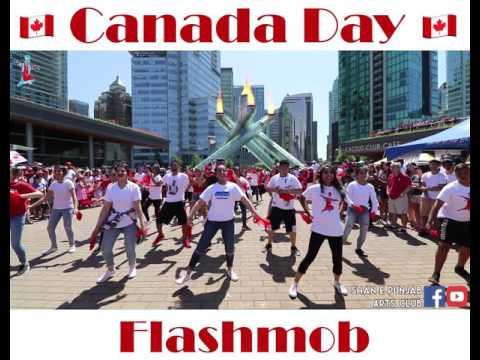 Canada 150 Bhangra Flashmob - Vancouver
