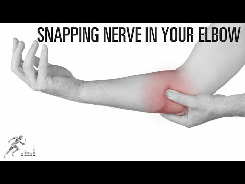 Snapping nerve in the elbow