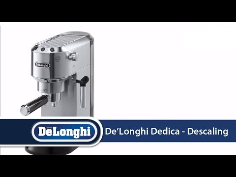 De'Longhi Dedica, EC680: How To Descale Your Machine