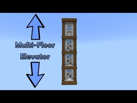 Outdated Minecraft Multi-floor elevator (PE/Xbox/Windows10/Switch)