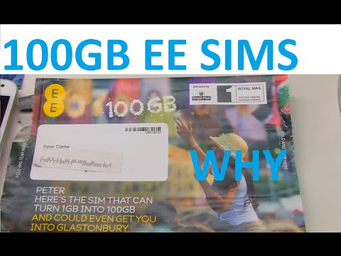 Why do EE keep offering 100GB Free SIMs?