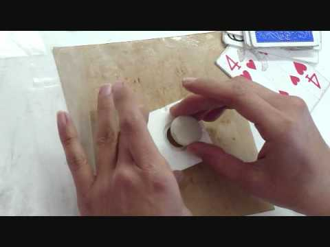 Metal Clay Ring Making Mold Demonstration