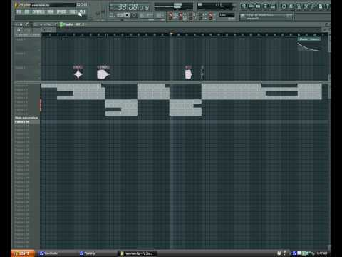 Fruity loops 9 basic Hip Hop beat