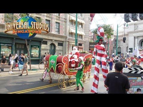 Universal Studios Singapore Christmas 2017