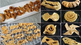 9 اشكال رائعة للشباكية  و الحلويات المعسلة من اسهل ما يكون و مصورة بالعرض البطيء.
