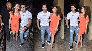 Varun Dhawan Arrives With New Girlfriend Sara Ali Khan In Front of Ex-Bf Kartik @StundentOfTheYear 2