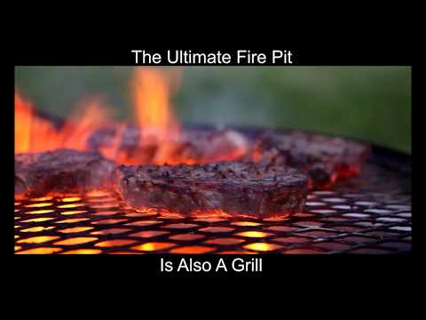 Grilling Steak on the Zentro Fire Pit