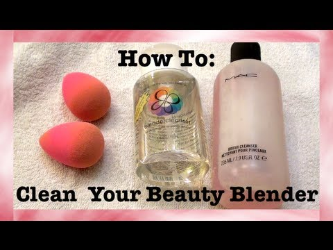 How To: Clean Your Beauty Blender - EASY TUTORIAL