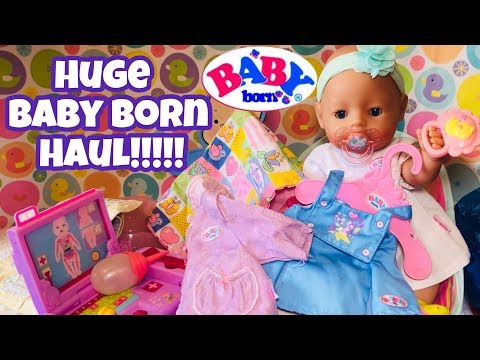HUGE Baby Born Haul clothes and accessories lots of new stuff