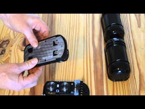 Dual beam infrared detectors