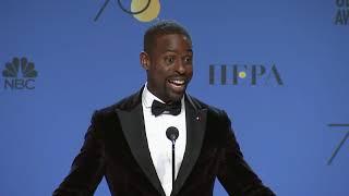 Sterling K. Brown - Golden Globes 2018 - Full Backstage Speech