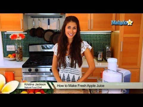 How to Make Fresh Apple Juice