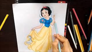 Sindirella çizimi How To Draw Cinderella D P Draw çizim