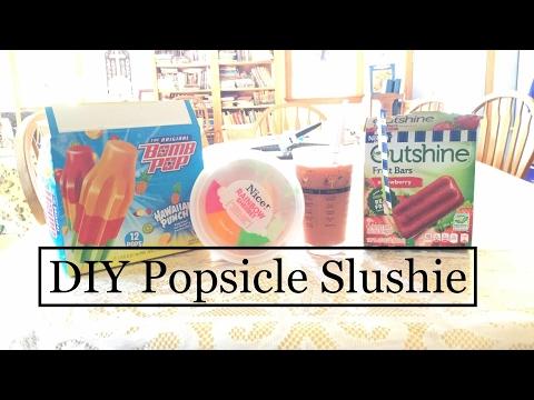 DIY Popsicle Slushie!!