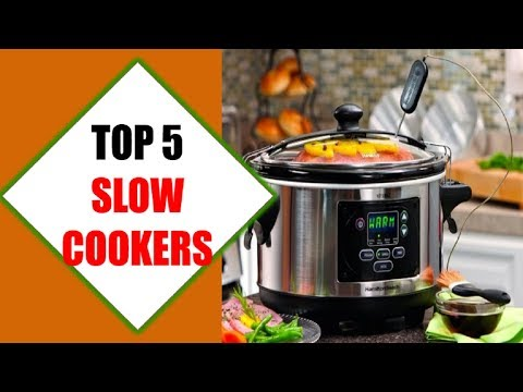 Top 5 Best Slow Cookers 2018 | Best Slow Cooker Review By Jumpy Express