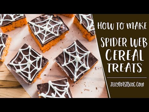 AD | Spider Web Cereal Treats | Jelly Toast