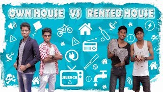 Own House Vs Rented House Leelaigal | Laughing Soda